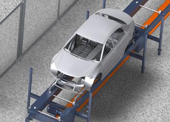 Skid-conveyor