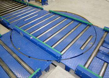 Turntable-conveyor
